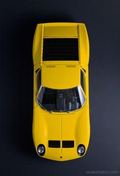 Lamborghini Miura S - Top by John Scullin