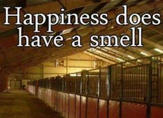 And what a wonderful smell it is!