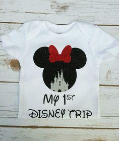 Floride Personnalisé Micky Mouse Disney World 2018//2019 Vacances T shirts
