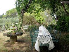 Farmhouse-Villa-Rental-Tuscany-Italy-Monteriggioni al fresco