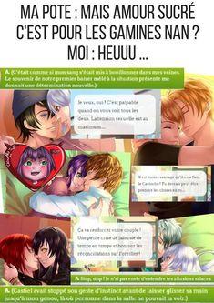 L'image contient peut-être: une personne ou plus et texte Troll, Castiel, My Candy Love, High School Life, Diabolik Lovers, Games For Girls, Adolescence, Kpop, Anime Manga