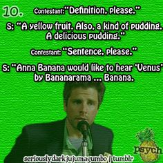...Banana. That's right, I finally have to just make a psych board.