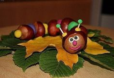Chestnuts Art - Your Kids Will Love It - Find Fun Art Projects to Do at Home and Arts and Crafts Ideas Owl Crafts, Baby Crafts, Kids Crafts, Arts And Crafts, Paper Crafts, Autumn Crafts, Halloween Crafts For Kids, Summer Crafts, Christmas Crafts