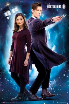 Doctor Who - Clara and The Doctor...This poster is in my living room right now.
