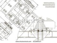 Engineering backgrounds. Technical Design. Mechanical engineering drawings. Blueprints. White    #bubushonok #art #bubushonokart #design #vector #shutterstock  #technical #engineering #drawing #blueprint   #technology #mechanism #draw #industry #construction #cad