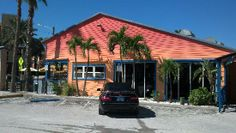 Conch Republic Grill: outside from parking lot 16699 Gulf Blvd North Redington Beach