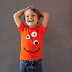 Cute and Cool Kid T-Shirt by Itty Bitty 1