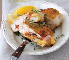 Plnené kuracie prsia | Recepty.sk Sweet & Easy, Good Food, Yummy Food, Eat Smarter, Stay Fit, Kitchen Design, Pork, Meals, Chicken