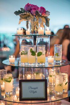 Charleston Weddings magazine summer 2016 / Photo by Marni Rothschild Wedding Planning Tips, Party Planning, Mod Wedding, Wedding Reception, Wedding Desert Table, Cheer Banquet, Drink Display, Bar Displays, Wedding Designs