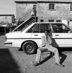 Young Man with his Car. Langa | Township, Life in Post-Apartheid South Africa | Anne Rearick