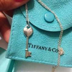 Tiffany Diamond Heart Key Necklace . Get the lowest price on Tiffany Diamond Heart Key Necklace  and other fabulous designer clothing and accessories! Shop Tradesy now