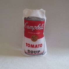 New 2016 barbie andy warhol doll campbells soup mod #style mini #dress #tunic top,  View more on the LINK: http://www.zeppy.io/product/gb/2/112183969409/
