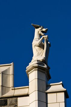 Gargoyle, City College of NY (CCNY), NYC. IMG_1719LR edit-2 by StevenC_in_NYC, via Flickr