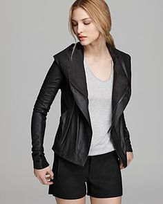 Vince Jacket - Paper Leather Hooded... Can I still pin it even if I already bought it? Haha, love it!!