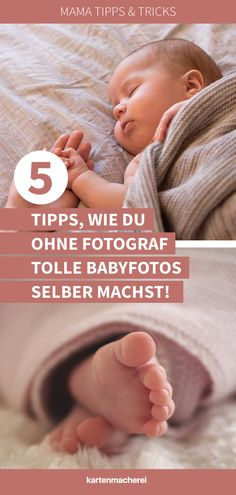 Mama tricks: 5 tips on how you can take great baby photos yourself without a photographer! Baby Shooting, Photo Souvenir, Foto Baby, Newborn Shoot, Baby Boom, Disposable Diapers, Baby Kind, Baby Hacks, Perfect Photo
