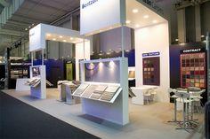 Exhibition stand at Domotex for the danish company Bentzon