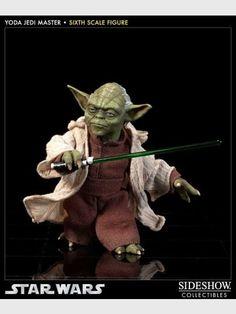 Star Wars Yoda: Jedi Master Sixth Scale Figur 14 cm