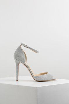 KACHOROVSKA / textile high heel wedding sandals Stuart Weitzman, High Heels, Sandals, Wedding, Shoes, Fashion, Heels, Valentines Day Weddings, Moda