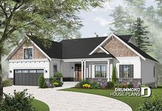 front - BASE MODEL Spectacular lake house with walkout basement, 4 bedroom Craftsman with game room and home office - Aldergrove