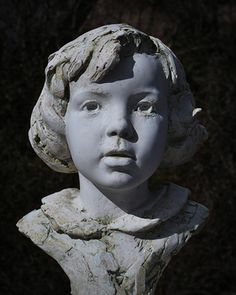 'Zoe'.  Life-size plaster.  By Mark Richards FRBS