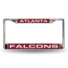 Atlanta Falcons Laser Chrome Frame