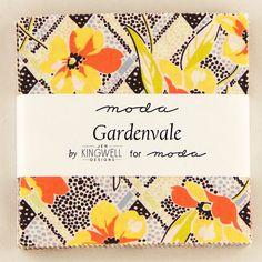 Gardenvale by Jen Kingwell for Moda  (18100PP) - Charm Pack
