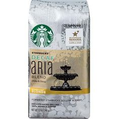 Starbucks Decaf Blonde Aria Blend Ground Coffee * Read more reviews of the product by visiting the link on the image.