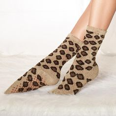 Plush Animal-Print Socks. Avon. Supersoft socks. Polyester/spandex. One size fits most. Available in Leopard or Zebra. Regularly $9.99. #CJTeam #Avon #Style #Sale #Fashion #New #AnimalPrint #Socks #Leopard #Zebra FREE shipping with any $40 online Avon purchase. Shop Avon fashion online @ www.thecjteam.com.