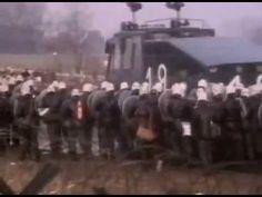 Demos in Brockdorf- 1981- Video