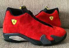 Authentic Jordan Retro Ferrari 14s For Sale Online Free Shipping  http://www.kingretro.com