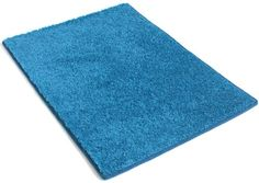 """8'x10' Area Rug. Color: CRAZY BLUE Carpet 25.5 Oz. SOFT PLUSH, AFFORDABLY ELEGANT & DURABLE. 20 Vibrant """"mod"""" colors to choose from. Premium Nylon Fabric finished edges. MANY SIZES and Shapes: Rectangles, Squares, Circles, Half Rounds, Ovals, and Stair Treads. Koeckritz http://www.amazon.com/dp/B005NUR14A/ref=cm_sw_r_pi_dp_EZGfvb10X3H8S"""