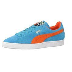Puma Herren Sneaker Suede Classic 356568 46.5 bluebird-tigerlily - http://besteckkaufen.com/puma/46-5-eu-puma-suede-classic-herren-sneakers-2