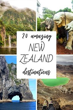 20 Amazing New Zealand Destinations Not To Miss - This Wild Life Of Mine New Zealand Destinations, Wildlife, Amazing