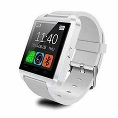 """Onix U Watch U8 Smartwatch  Strap Hanya Warna Hitam   Spesifikasi :  Layar sentuh 148""""  Multi bahasa  Teknologi layar sentuh  Untuk Android dan iOs  Strap Silicon  I-one Smartwatch U8 adalah Smartwatch Bluetooth yang membuat menghubungkan ponsel Android dan iOs anda yang secara mudah mengakses - Panggilan telepon - Phonebook - Sms - Pedometer - Memutaran musik - Alarm - Calender - Stopwatch - dsb  Ready warna Putih  HARGA: Rp199.000 Member discount 10% minat Join cek DP  Untuk pemesanan…"""