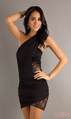 Look fiercely sexy in this one shoulder dress. Awesome dress!!!