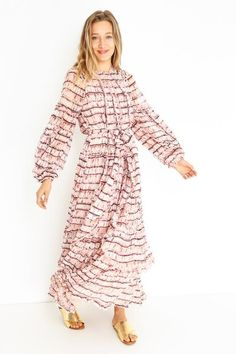SABINA DRESS Ulla Johnson, Dresses With Sleeves, Long Sleeve, Collection, Fashion, Moda, Sleeve Dresses, Long Dress Patterns, Fashion Styles