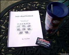 Russell at the Jig Pro Shop sent me a copy of the 'Turk's-Head Workbook' by Tom Hall, a companion book to the 'Introduction to Turk's-Head Knots' book that a friend sent me earlier in the week.  A good week for knot books. :)