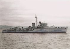 ORP Krakowiak (L115) was a British Type II Hunt-class destroyer escort, used by the Polish Navy during World War II. Initially built for the Royal Navy, it bore the name of HMS Silverton during British use. #2A