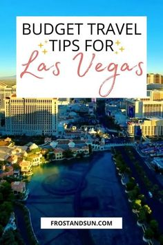 Visiting Las Vegas doesn't have to be expensive - it can definitely be done on a budget. Check out this post for tips on visiting Las Vegas on a budget.