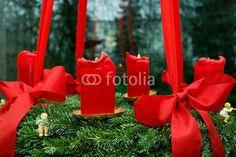 Vorweihnachtszeit, Adventskranz