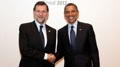 Barack Obama y Rajoy #españa #spain #usa