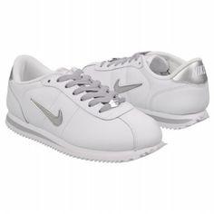 Silver Nike Cortez