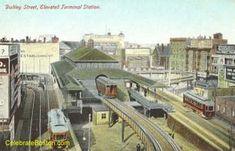 elevated train station images   MBTA Orange Line Historic Images