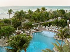 Loews #Miami #Beach #pool. #Hotel #Travel #Beach