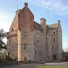 Dairsie Castle, Dairsie, north-east Fife, Scotland. www.castlesandmanorhouses.com Dairsie Castle is a a restored tower house overlooking the River Eden. A Scottish parliament was held at the castle in early 1335. The first castle built here was the...