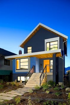 Modern Home in Vancouver by Marken Projects
