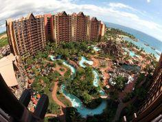 honeymoon location in Auluni, Disney Resort, Hawaii