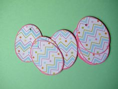 Easter Egg Tags by CraftingCashman