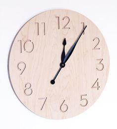 extra large modern wall clock