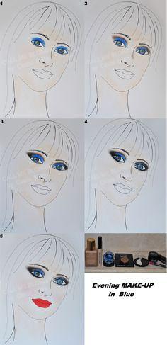 http://www.callmeblondiebycinziasatta.com/wp/make-up-blu-da-gran-sera/